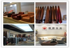 2017 High Quality Coffee Color Sofa Fabric with Suede pictures & photos