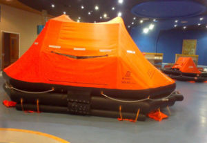 Marine Ship Water-Proof Rubber Life Raft with 10p 25p 50p pictures & photos
