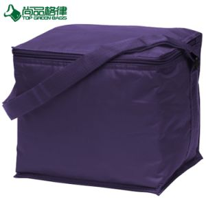 Outdoor Insulated Polyester 6 Cans Cooler Pack Shoulder Picnic Bag pictures & photos