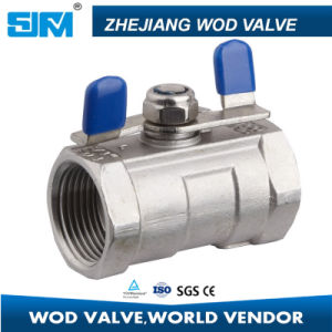 Stainless Steel1 PC Butterfly Type Ball Valve pictures & photos