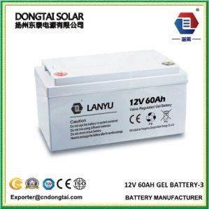 12V60ah VRLA Deep-Cycle Solar Gel Battery pictures & photos
