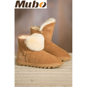Women′s Winter Snow Sheepskin Boots pictures & photos
