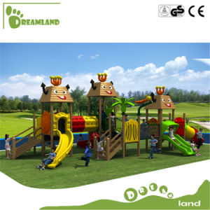 Used Commercial Outdoor Playground for Kids School Plastic Sets pictures & photos