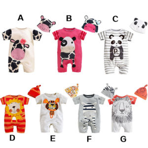 Cartoon Animal Romper Jumpsuit Outfits Costume for Baby Toddlers, Short Sleeved pictures & photos