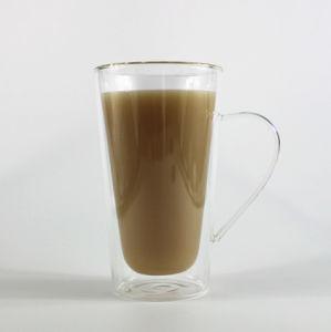 Double Walll Glass Cup Coffee/ Tea/Wine Borosilicate Hand Made Mouthblown