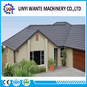 Chinese 1340X420X0.4mm Classic Stone Coated Roof Tiles pictures & photos