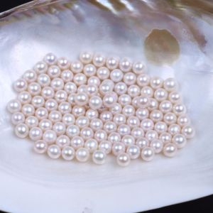 8-9mm Round Natural Freshwater Pearl Beads pictures & photos