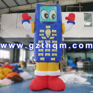 Inflatable Mobile Phone Model for Promotion/China Factory Inflatable Mobile Phone pictures & photos