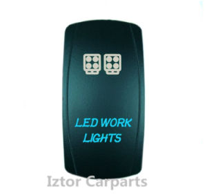 Roof LED Light Waterproof Rocker Switch for Car Marine Boad pictures & photos