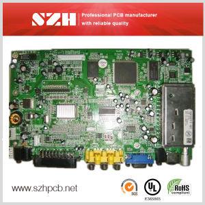 Network Phone Control Rigid Circuit Board PCBA Manufacturer pictures & photos