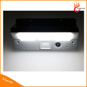 21 LED Solar Powered PIR Motion Sensor Wall Light with 3 LED Indicator Light for Outdoor Garden Lighting pictures & photos