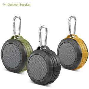 Army Green Portable Waterproof Bluetooth Speaker pictures & photos