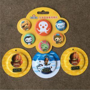Customize High Quality Metal Tin Button Badge (BBG-04) pictures & photos