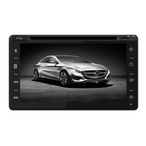 6.2 Inch Universal Set Car Double DIN DVD Player with GPS Bt Radio iPod 4G TPMS Mirror Link 1080P