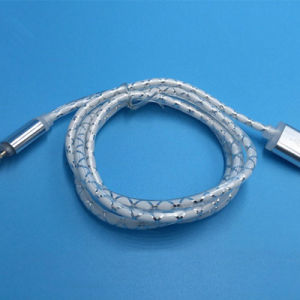 OEM Mobile Phone USB Data Cable with LED Light for Android iPhone pictures & photos