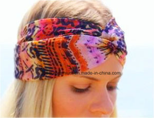 Fashion Cross Hair Band with Beauty Printing Design for Girls BPS0206 pictures & photos