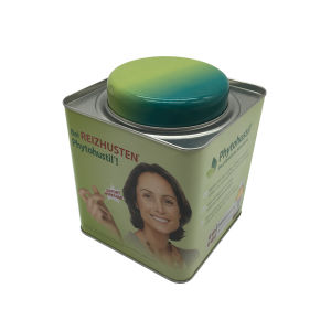 Tea Tin Box Packaging Tin Container Double Lid Factory Directly pictures & photos