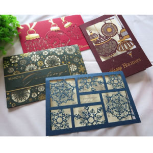 Magnetic New Design Greeting Card Printing pictures & photos