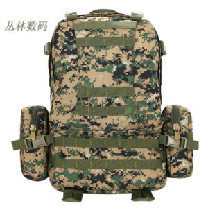 Fashioon Old Urban Popular Military Tactical Water-Proof European Multicam Tactical Hiking Shoulder Camping Backpack pictures & photos