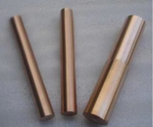 Tungsten Copper Alloys Bar/ Tungsten Copper Rod pictures & photos