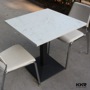 Stain Resistance Modern Table Solid Surface Restaurant Dining Table pictures & photos