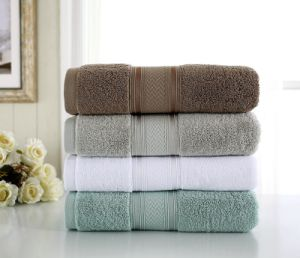 Hotel Linens Supplier Wholesale Best Quality Bath Towels to Buy pictures & photos