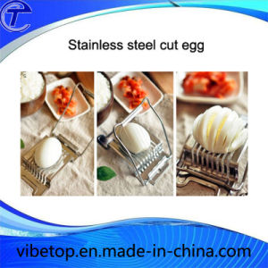Creative Stainless Steel Egg Cutter Slicer (EC-03) pictures & photos