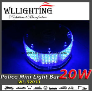 Round 240 LED Police Mini Light Bar pictures & photos