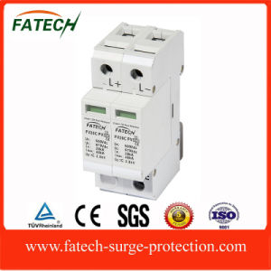 China 2 poles PV Electronic Device OEM DC Surge Arrester pictures & photos