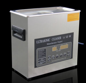 New Degas + Heating Function Stainless Steel Made LED Display Professional 3L Ultrasonic Cleaner pictures & photos