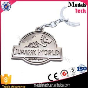 Promotion Custom Dinosaurlogo Keychain for Jurassic World pictures & photos