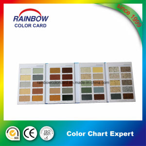 Colour Paper Card for Real Stone Paint pictures & photos