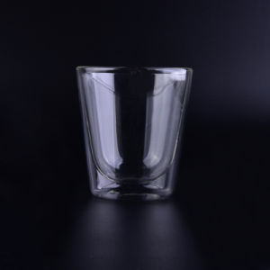 Double-Wall Insulated Thermo Borosilicate Clear Glass Mug, 8.5 Ounce pictures & photos
