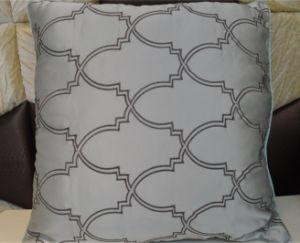 Embroidery Decorative Cushion Fashion Velvet Pillow (EDM0346) pictures & photos