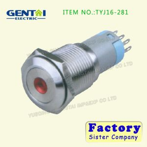 High Quality Flat Screw Type Metal Switch pictures & photos