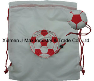 Foldable Draw String Bag, Football, Leisure, Sports, Promotion, Accessories & Decoration, Lightweight, Convenient and Handy pictures & photos
