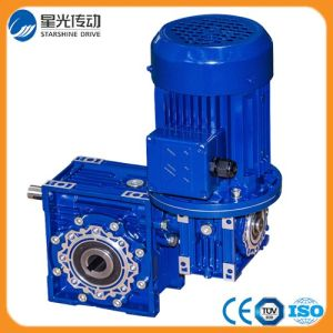 Two Step RV Series Worm Gearbox (NRV025-150) pictures & photos