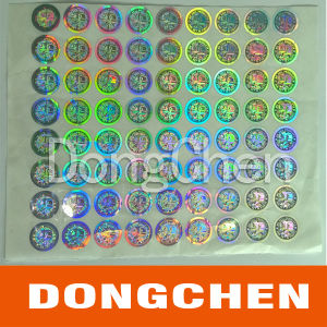Transparent Hologram Anti-Counterfeiting Laser Adhesive Label pictures & photos