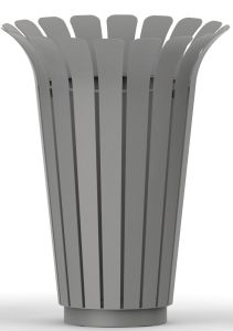 Outdoor Trash Bin for European Market with Good Quality (HW-518) pictures & photos