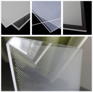 Acrylic LED LGP (Light Guiding Plate) for Slim LED Light Box pictures & photos