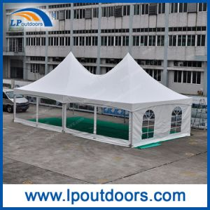 White Frame Tent 6X12m Transparent Sidewalls Outdoor Event Tent pictures & photos