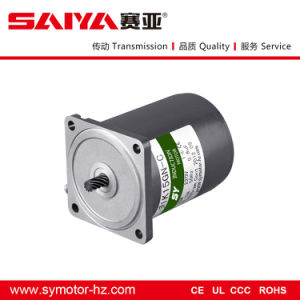 Sy 110V/220V 50Hz/60Hz/15W AC Pinion Shaft Motor (70mm) , AC Motor pictures & photos