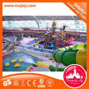 Eco-Friendly Outdoor Playgorund Equipment Water Park with Slide pictures & photos