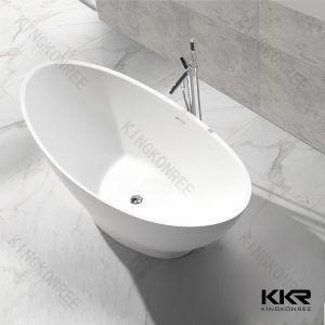 Designer Modern Free Standing Solid Surface Bath Tub Stone / Like Corian Bathtub pictures & photos