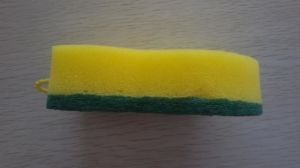 Nut Shape Sponge Scouring Pad pictures & photos