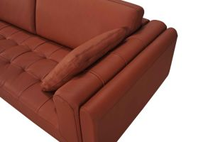 Cheap Modern Furniture Sectional Leather Sofa with Genuine Leather pictures & photos