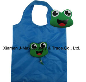 Foldable Shopping Eco-Friendly Bag, Animal Frog Style, Grocery Bags and Handy, Promotion, Lightweight, Accessories & Decoration, Reusable pictures & photos