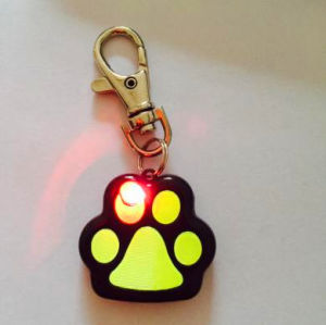 Cheap and Promotion Pet Products LED Pet Paw Dog Pendant pictures & photos