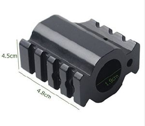 Low Profile Gas Block 90 180 Degree Dual 20mm Rail Mount Adapter Offset Extension pictures & photos