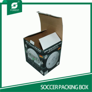 Square Shape Corrugated Soccer Packaging Boxes pictures & photos